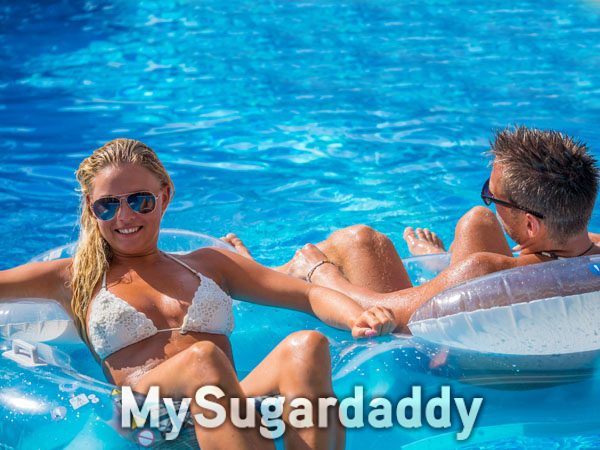 Luxusurlaub mit dem Sugardaddy