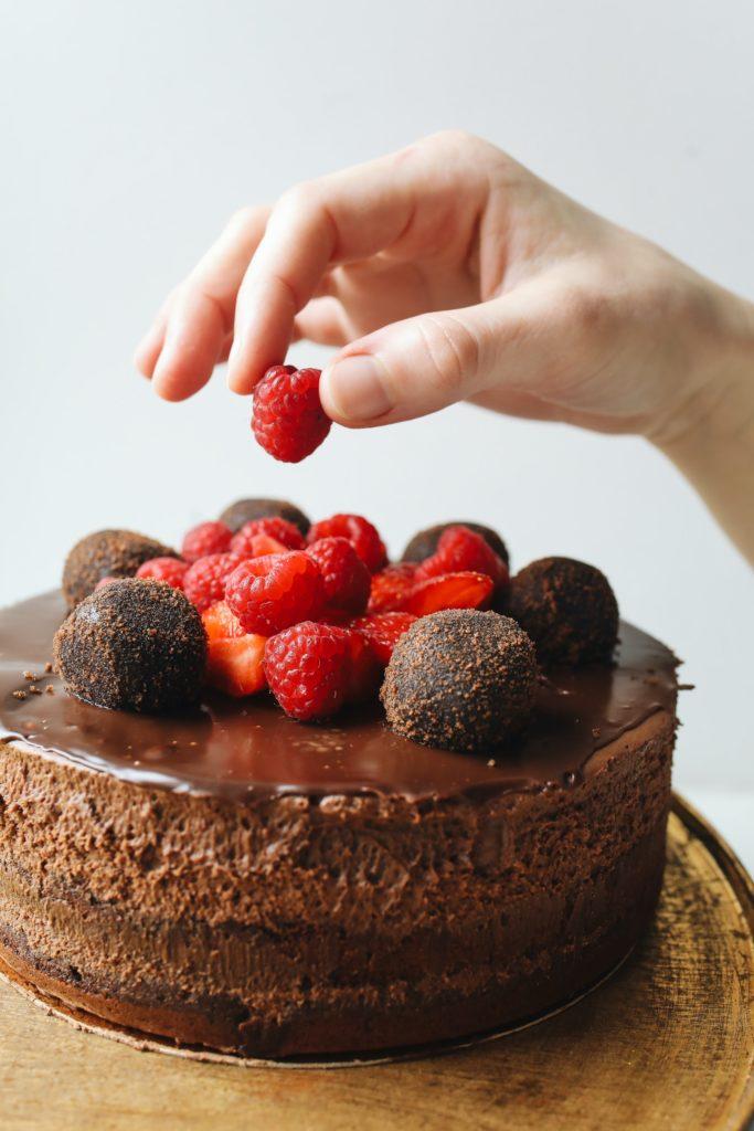 Genuss durch Schokolade