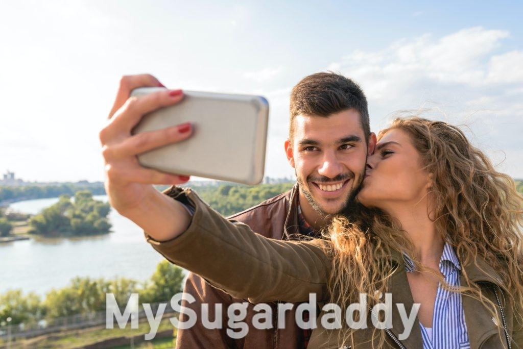 Selfie mit dem Liebsten