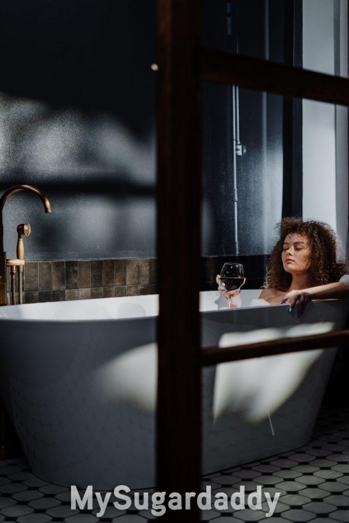 Herbst - Ein heißes Bad sorgt für eine heiße Stimmung