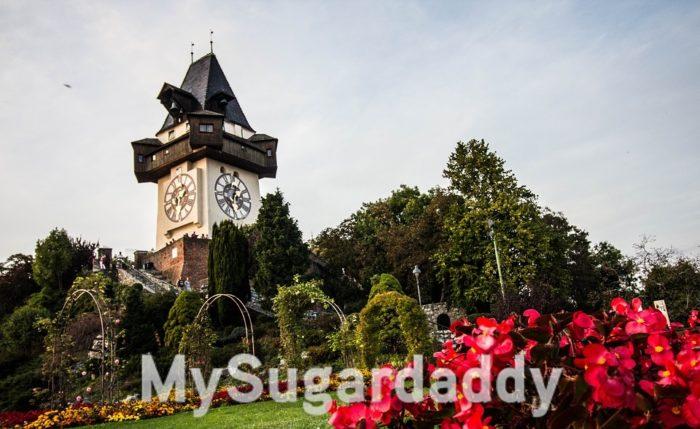 Sugardaddy in Graz - Der Schlossberg im Frühling